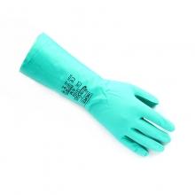 霍尼韦尔 HONEYWELL LA102丁腈防化手套耐化学品洗车喷漆加工12副/打