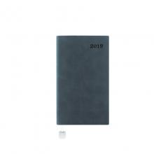 PAPERBOAT 2019版 A6 效率手册 1天1页(绒面灰色)