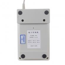 驰亨 702U 磁卡查询机 磁条卡读卡器 刷卡器 USB接口 双向读 会员卡刷卡机 磁条卡读卡器(白色)