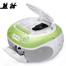 熊猫 PANDA CD-860 CD复读机磁带机 光盘复读机 插卡收音机 (绿色)