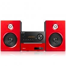 先科 SAST AEP-899  蓝牙音响 dvd播放机 CD机 电视音响 电脑音响 vcd影碟机 红色