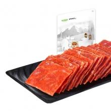 三只松鼠 猪肉脯 肉干零食休闲小吃 猪肉干 靖江风味210g/袋