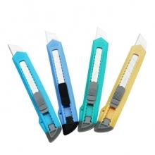 广博 8212 大号美工刀 裁纸刀剪裁刀 金属壁纸工具刀 长127mm