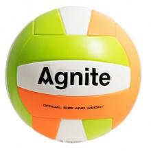 安格耐特 AGNITE F1255 5号高端PU软式手帖排球 室内外通用教学比赛训练排球