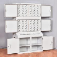 中伟 SJG-68625 7829545 钢制手机信号屏蔽柜(带杂物柜)三节64格