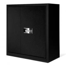 中伟 955 高加厚款 电子保密柜 单节含暗抽国宝锁全酷黑色