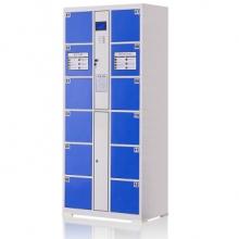 中伟 电子存包柜 超市商场储物柜 12门自编型