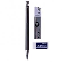 得力 S727 金属活动铅笔(黑)(1支/盒)