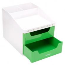 得力 8901 收纳盒(绿)