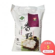 香野 家用中筋面粉 小麦原味食用面粉 10kg/袋