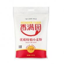 香满园  中筋面粉 家用特精小麦粉 10kg/袋