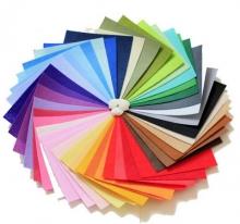 不织布  45*45 单张 颜色随机 下单请备注颜色