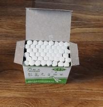 六角无尘粉笔 48支/盒 50盒/箱  白色