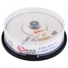 啄木鸟 DVD-R 8CM 小盘 8速 1.4G 3寸小盘 桶装10片