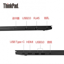 联想(ThinkPad) E470(20H1001SCD)14英寸笔记本电脑(i5-7200U 8G 1T 2G独显 Win10)黑色