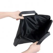 得力(deli)5590  A4帆布手提会议包档案袋 灰色(高档电脑/IPAD包)