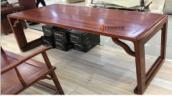 中美隆 ZZ-01898 实木书法桌 1600*800*760mm