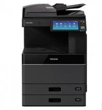 东芝(TOSHIBA)FC-4515AC多功能彩色数码复合机 A3激光双面打印复印扫描 e-STUDIO4515AC+自动输稿器+双纸盒