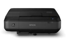 爱普生 EPSON 宽画幅激光超短焦投影机 CH-LS100 (4000流明/WUXGA(1920*1200)/激光)内置16W音箱+100寸菲涅尔抗光幕布