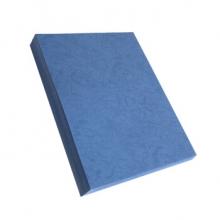 晨好(CH) 皮纹纸 装订封皮 标书封面 彩色 A4 230g 深蓝色 100张/包