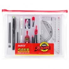 宝克(BAOKE)KS001 金榜题名考试套装 绘图套尺+中性笔+涂卡铅笔+笔芯+橡皮+圆规 (计价单位:套)