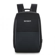 斯莫尔(SIMOER)SL-6015  商务双肩包 黑色