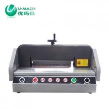 优玛仕(U-MACH) U-QZ330 电动切纸机 台式 白色