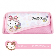 广博 KT85013 迪士尼笔袋 【白底左猫】
