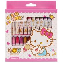 广博 KT84065 HelloKitty油画棒 24色/盒