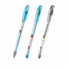 金万年 K-3104 金钻极细0.38MM半针配RS02系列芯拔帽圆珠-蓝色