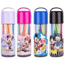 广博(GuangBo)IMQ94202 24色筒装水彩笔画笔 颜色随机