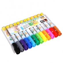 金万年 G-0589  可洗墨水12色套装水彩笔-多颜色