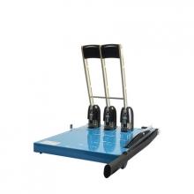 优玛仕 U-DK150 手动三孔打孔机 可裁纸 蓝色