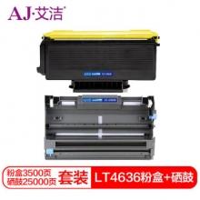 艾洁 LT4636粉盒+DR3150硒鼓套装 适用于兄弟brother HL5240 HL5250DN MFC8460N MFC8860DN DCP8060