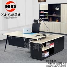 华都 HD9M-31 1.8米钢木立腿写字台