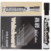 真彩(TRUECOLOR) 0895B 水性可擦白板笔  黑色 12支/盒