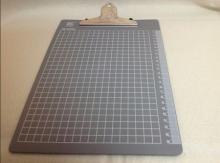 钊盛 ZS-8004 A4书写板夹 (灰色)