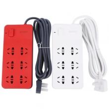 晨光 (M&G)AEA98651 延长线插座六位3米 红白双色