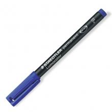 施德楼(Staedtler) 318F 油性记号笔 10支/盒(蓝色)(计价单位:支)