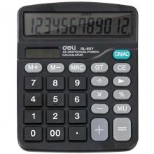 得力(deli) DL-837 12位数显  办公计算器