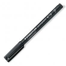 施德楼(Staedtler) 318F 油性记号笔 10支/盒(黑色) (计价单位:支)