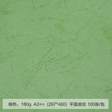 道顿(DOCON)A3++ 180g 平面皮纹纸 绿色 100张/包