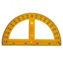 虹昇(HONGSHENG)  塑料量角器 大  直径50cm