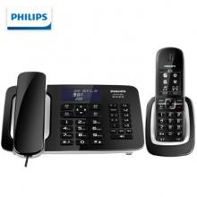 飞利浦(PHILIPS)DCTG 492+ 无线录音电话机 子母机 黑色