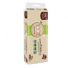 洁柔 MJ004-01自然木4层200克卷纸卫生纸10卷/提 6提/箱