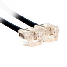 酷比客 L-CUBIC LCLN3TELBK-3M 两芯纯铜电话线 3米 (黑色)