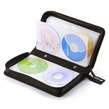 山业 SANWA 96片CD盒 大容量创意便携光盘包 高强度 易收纳 200-FCD028 黑色