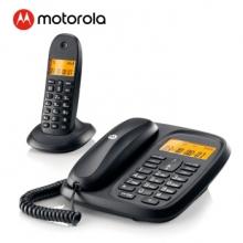 摩托罗拉(Motorola) CL101C 数字无绳电话机 无线座机 子母机一拖一 黑色