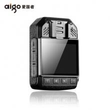 爱国者(aigo)执法记录仪DSJ-T2 64G 红外夜视1296P便携加密白光照明录音录像拍照 黑色