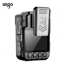 爱国者(aigo)执法记录仪 DSJ-R7(32G)红外夜视1296P便携加密激光定位 对讲 可外接摄像头 可配双电